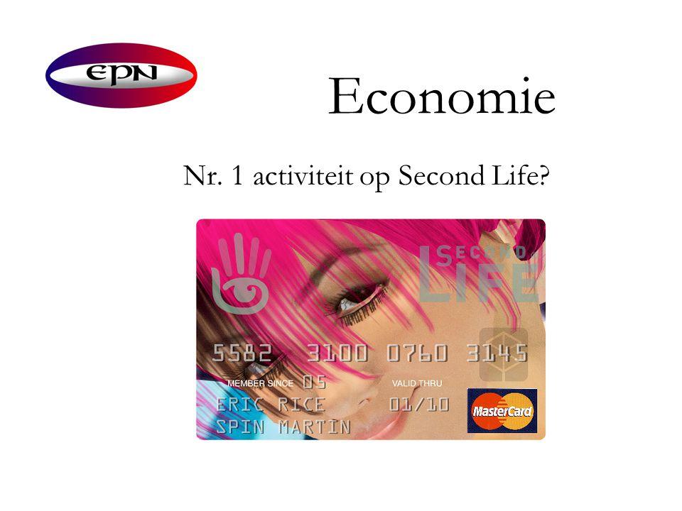 Economie Nr. 1 activiteit op Second Life?