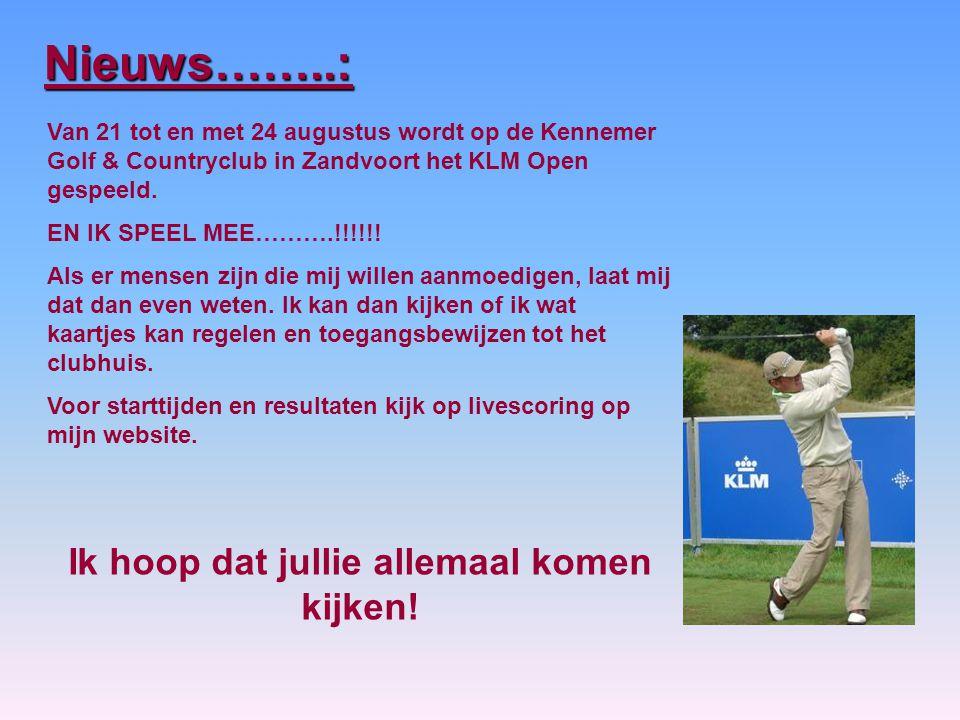 Van 21 tot en met 24 augustus wordt op de Kennemer Golf & Countryclub in Zandvoort het KLM Open gespeeld.