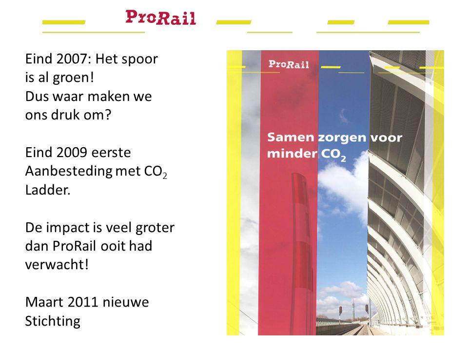 Eind 2007: Het spoor is al groen. Dus waar maken we ons druk om.
