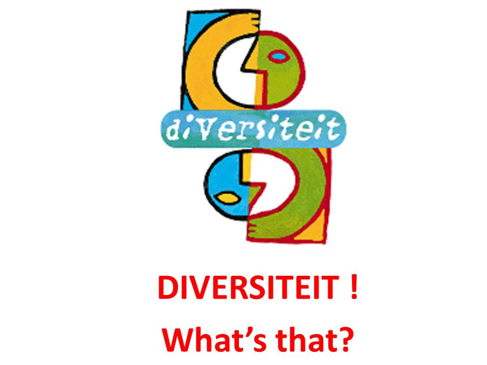 DIVERSITEIT ! What's that