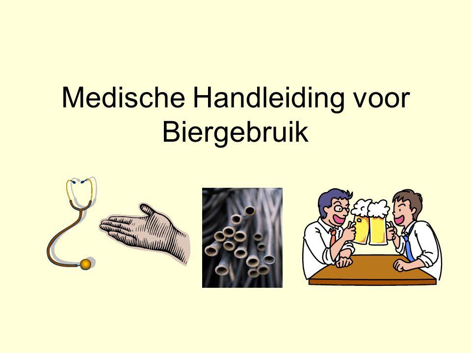 Medische Handleiding voor Biergebruik