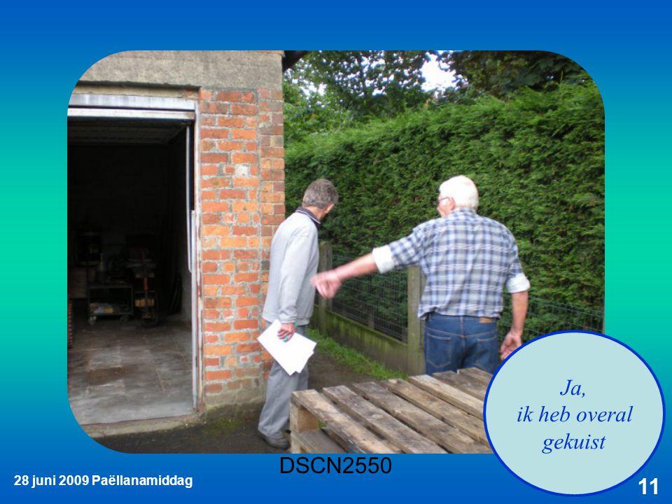 28 juni 2009 Paëllanamiddag 11 Ja, ik heb overal gekuist