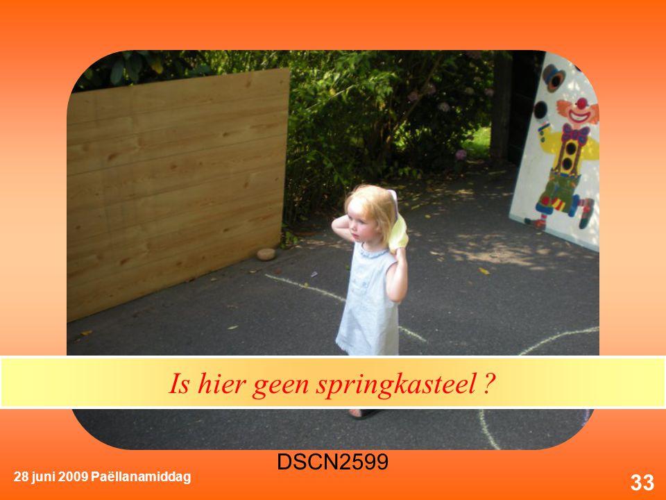 28 juni 2009 Paëllanamiddag 33 Is hier geen springkasteel