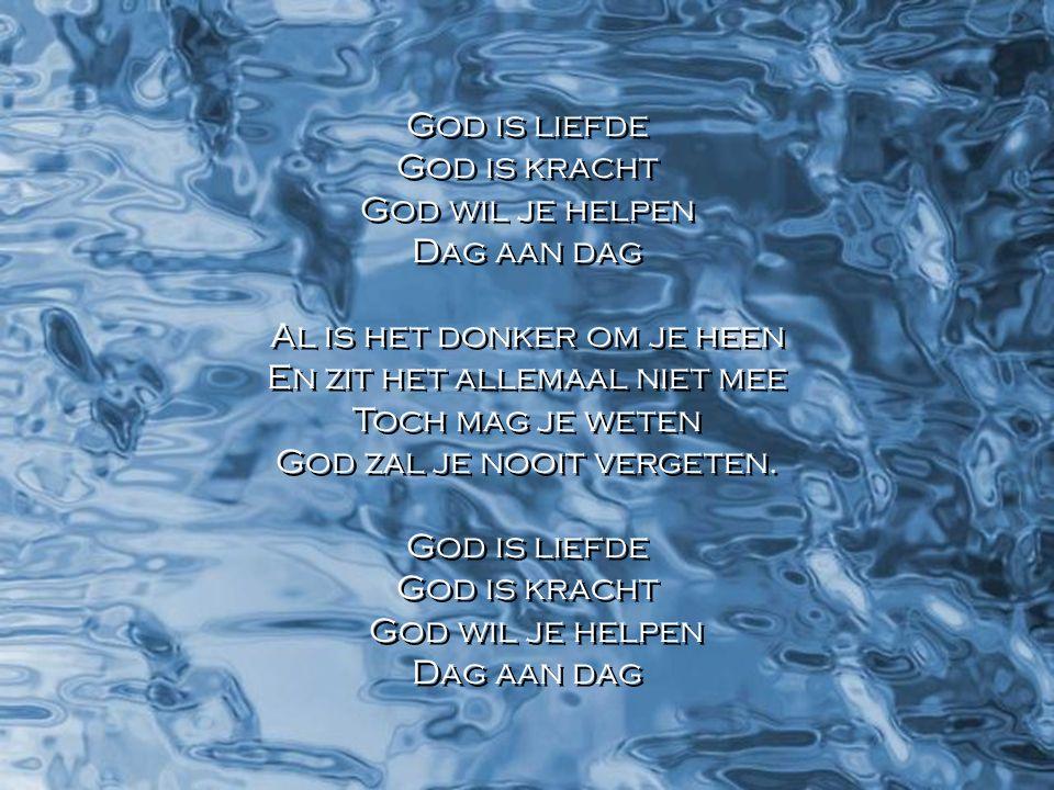 Het samengestroomde water noemde hij zee. Gen. 1 : 10
