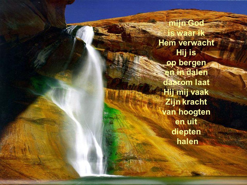 Rivieren van levend water zullen stromen uit het hart van wie in mij gelooft.