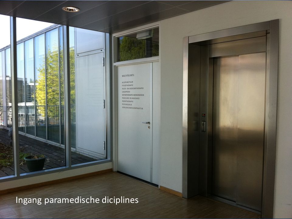 Ingang paramedische diciplines