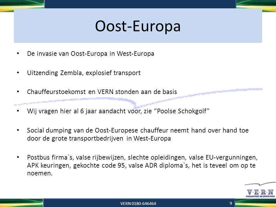 Oost-Europa • Bewijzen hier voor zijn al vele malen aangetoond door VERN, st.