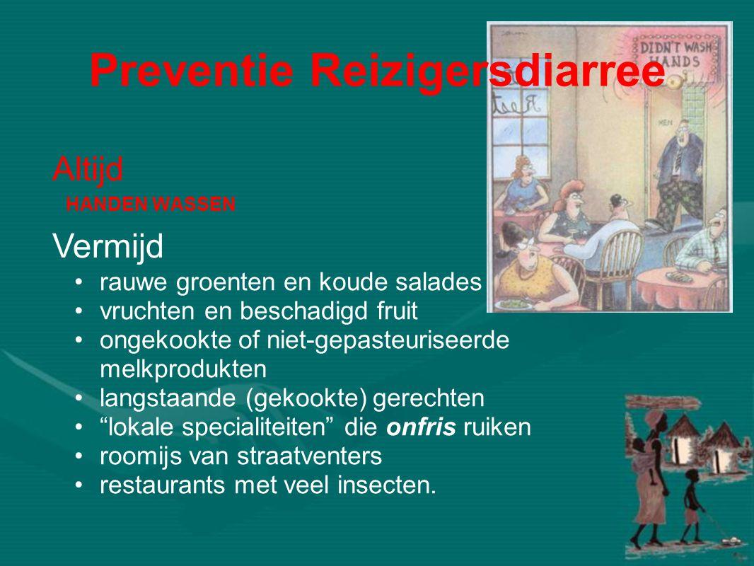 HANDEN WASSEN •rauwe groenten en koude salades •vruchten en beschadigd fruit •ongekookte of niet-gepasteuriseerde melkprodukten •langstaande (gekookte