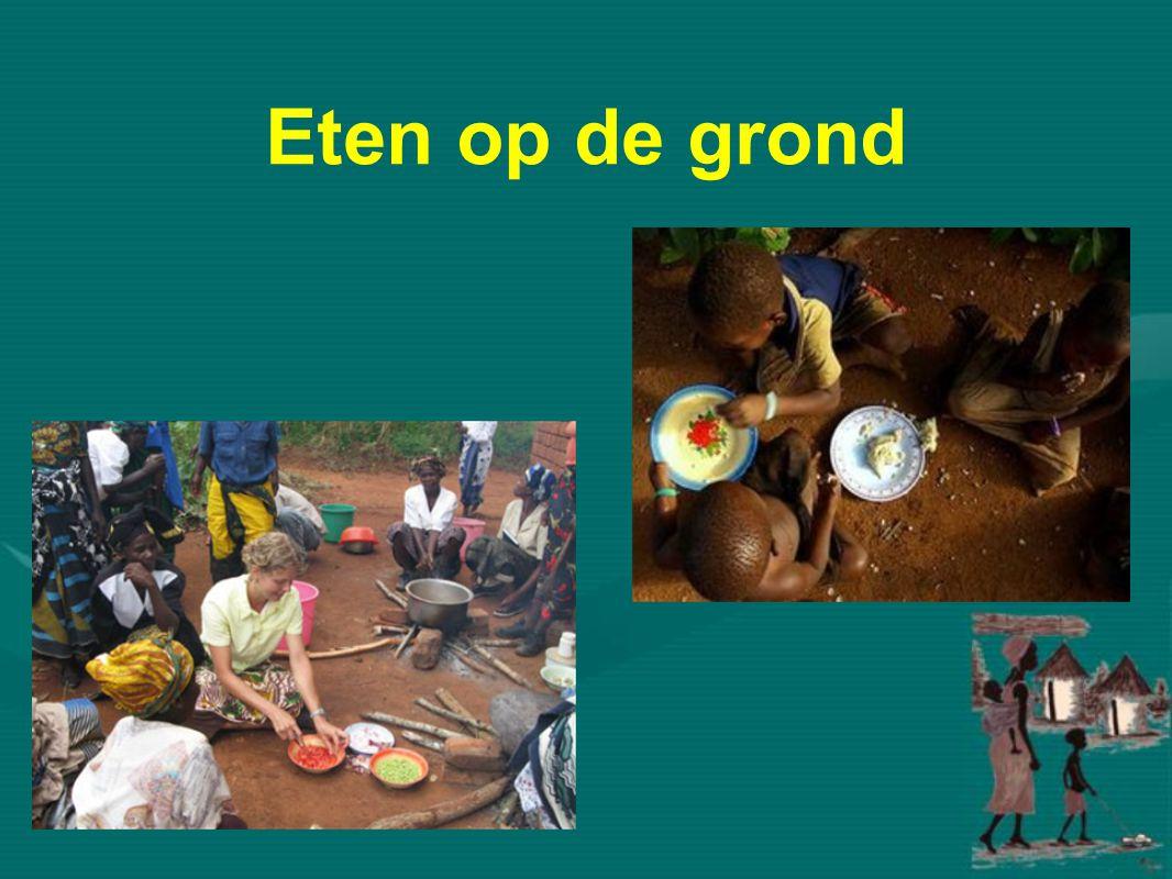 Eten op de grond