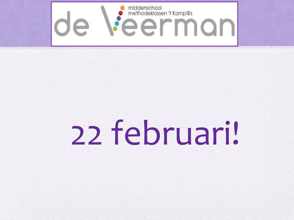 22 februari!