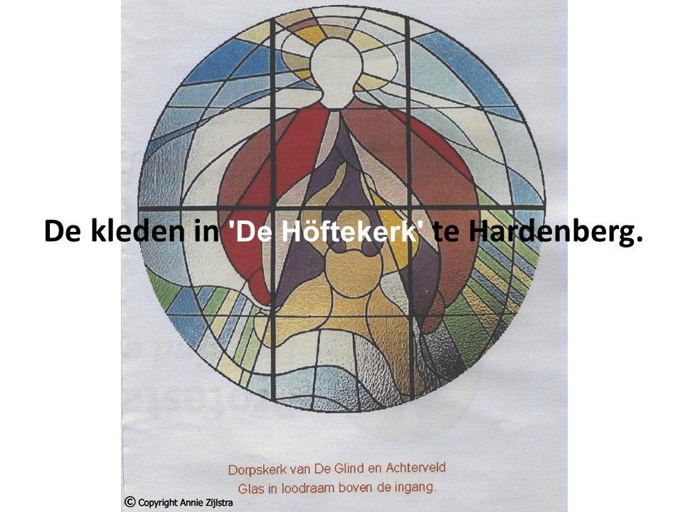 De kleden in De Höftekerk te Hardenberg.