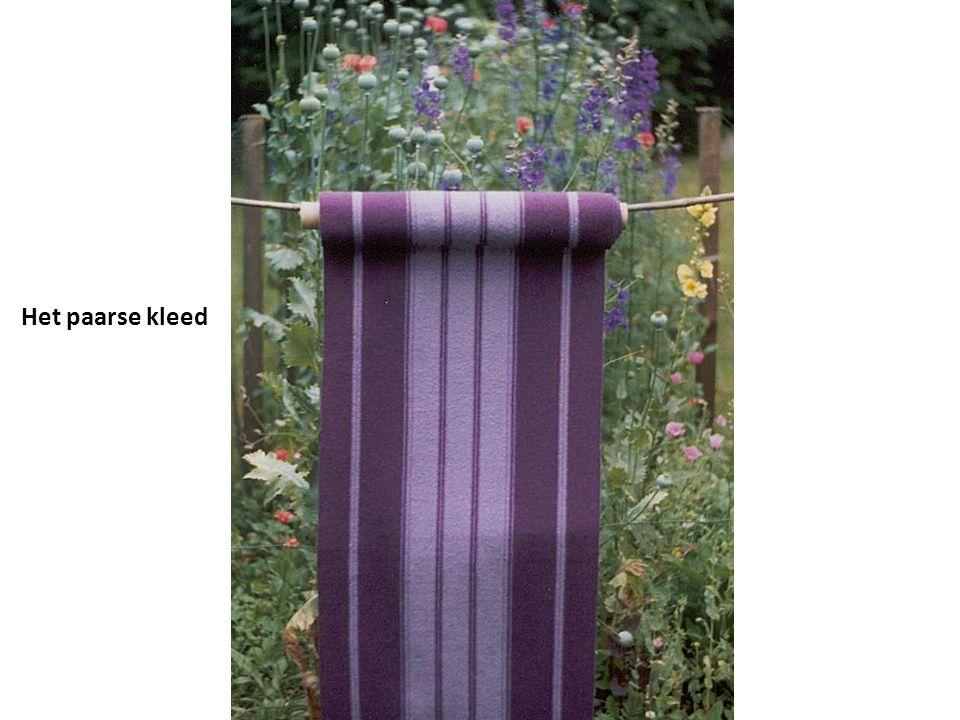 Het paarse kleed
