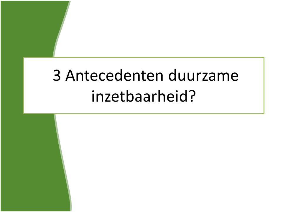 3 Antecedenten duurzame inzetbaarheid?