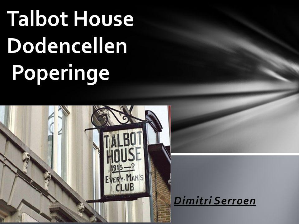 Dimitri Serroen Talbot House Dodencellen Poperinge