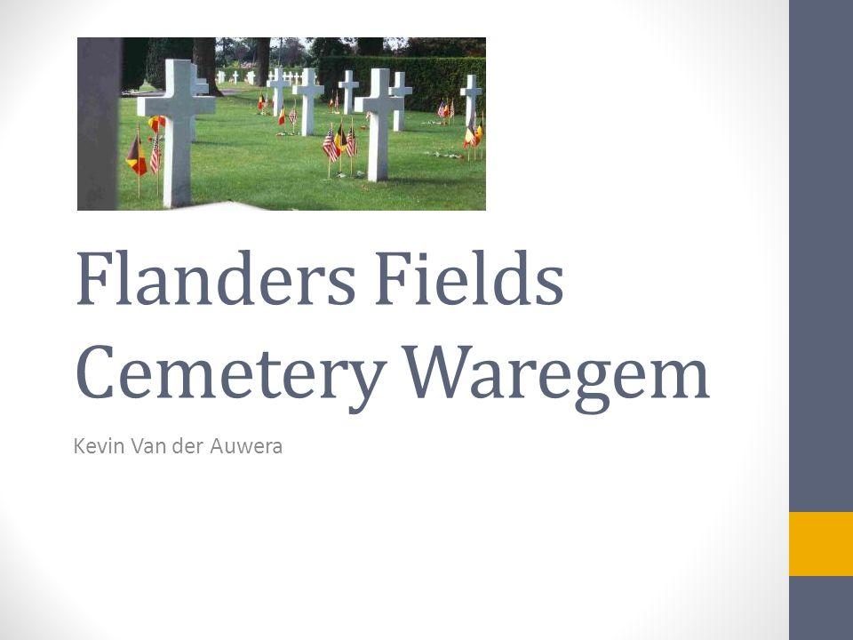 Flanders Fields Cemetery Waregem Kevin Van der Auwera