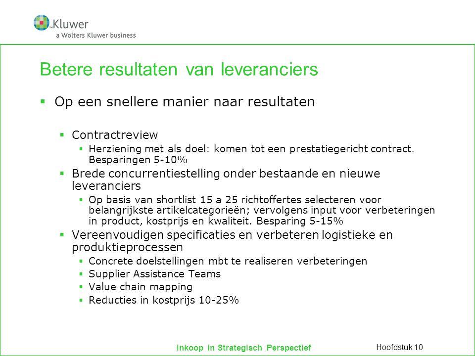 Inkoop in Strategisch Perspectief De mythe van partnership  Partnership (Ellram et al.