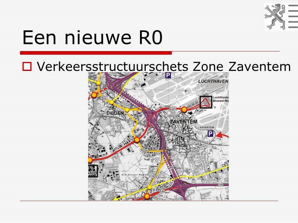 Een nieuwe R0  Verkeersstructuurschets Zone Zaventem