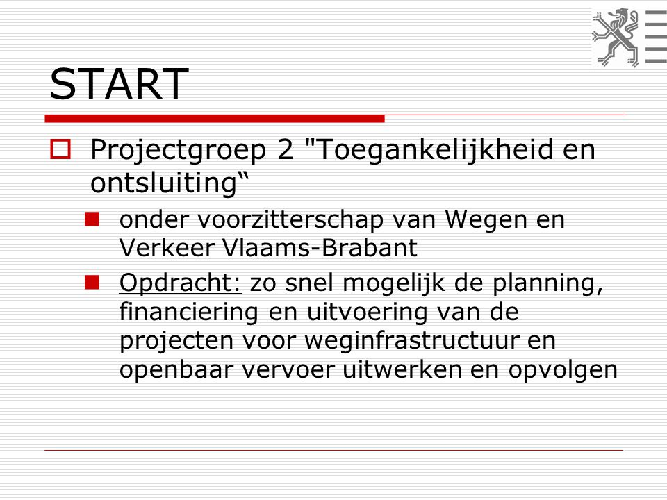 START  Projectgroep 2