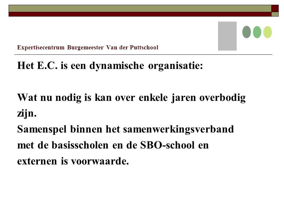 Expertisecentrum Burgemeester Van der Puttschool Het E.C.