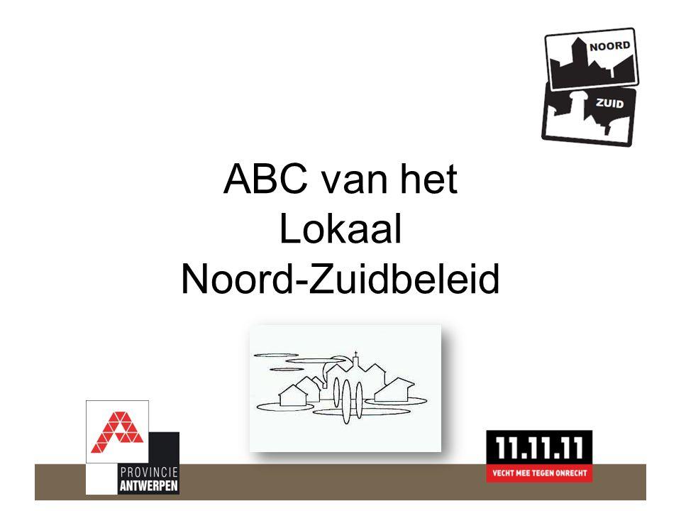 ABC van het Lokaal Noord-Zuidbeleid