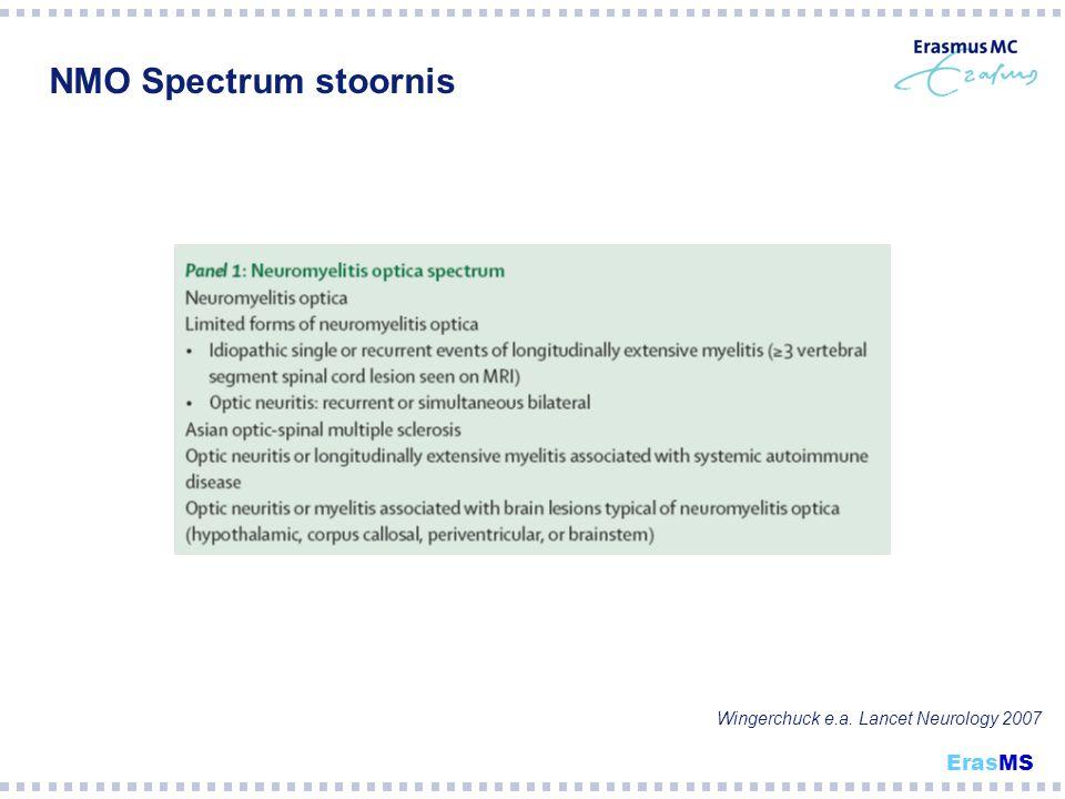 NMO Spectrum stoornis Wingerchuck e.a. Lancet Neurology 2007 ErasMS