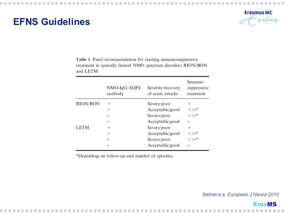 EFNS Guidelines ErasMS Sellner e.a. European J Neurol 2010