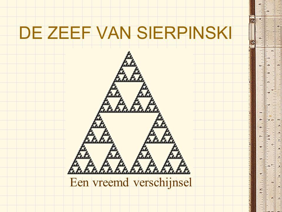 De zeef van Sierpinski 1.Wie is sierpinski 2.Wat is de zeef van sierpinski 3.Het verbant tussen sierpinski en Pascal 4.De zeef van Sierpinski op TI-84