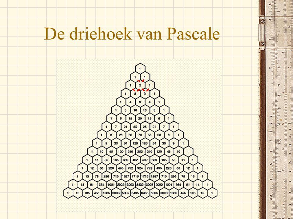 De driehoek van Pascale