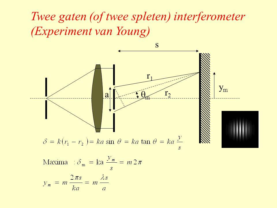 Verdere verbetering met meerdere  /4 lagen m.b.t.: •Ontspiegeling (anti-reflectie) •Multi-lagen reflectoren •Interferentie filters Notatie: g(HL) n aglas-(hoge index)-(lage index)…...-lucht Hoge index materialen: ZrO 2 (n=2.1); TiO 2 (n=2.4) en ZnS (n=2.32) Lage index materialen: MgF 2 (n=1.38) en CeF 2 (n=1.63)