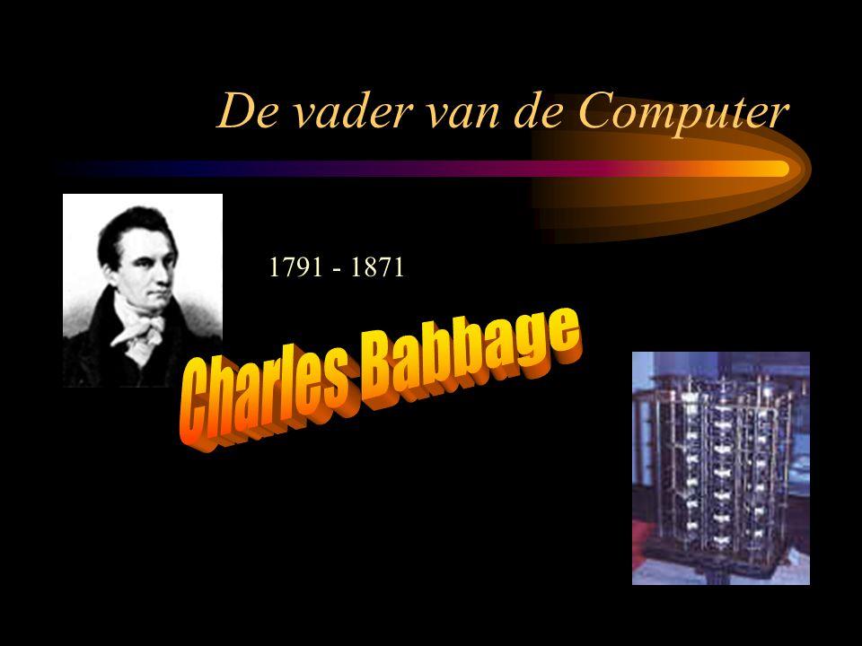 De vader van de Computer 1791 - 1871
