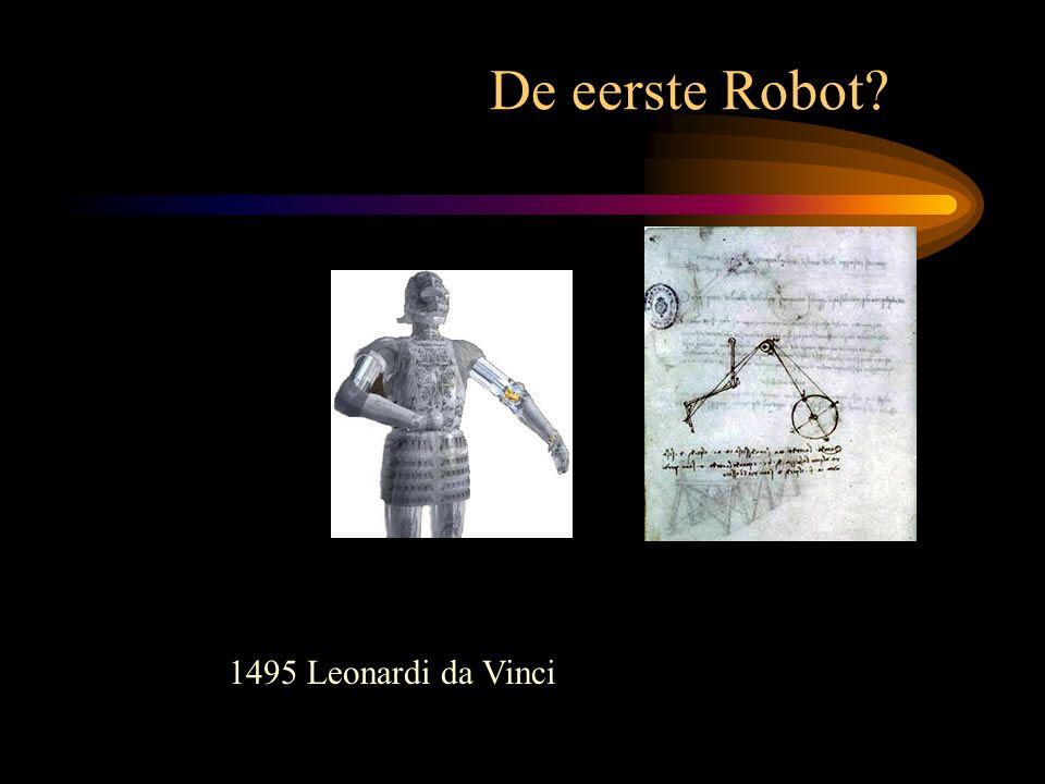 1495 Leonardi da Vinci De eerste Robot?