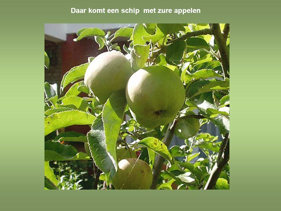 Schone appels zijn zuur