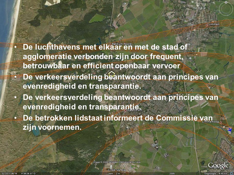 Waaruit mag een Nederlands luchthavensysteem bestaan.