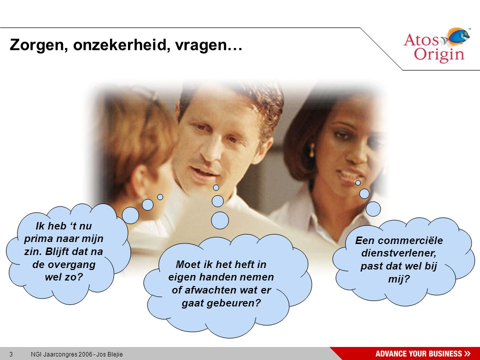 4 NGI Jaarcongres 2006 - Jos Blejie Ben ik welkom...?