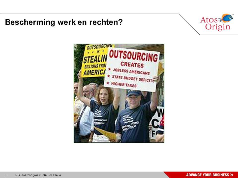 6 NGI Jaarcongres 2006 - Jos Blejie Bescherming werk en rechten