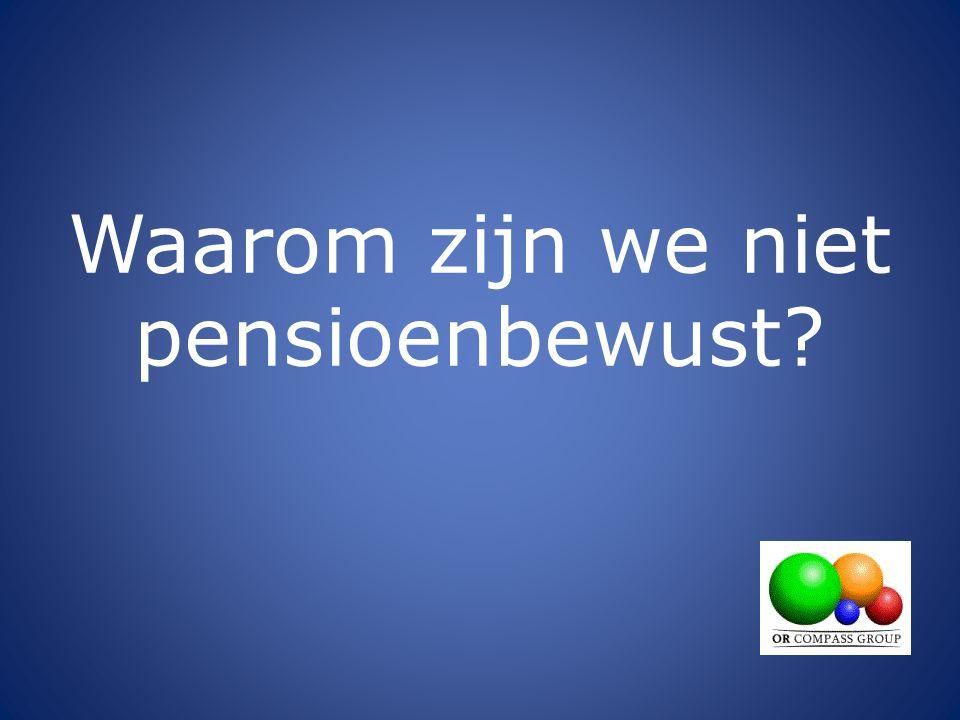1 biljoen Euro pensioengelden is voor 8,2 miljoen huishoudens in Nederland gemiddeld 125.000 euro per huishouden 1.000.000.000 euro