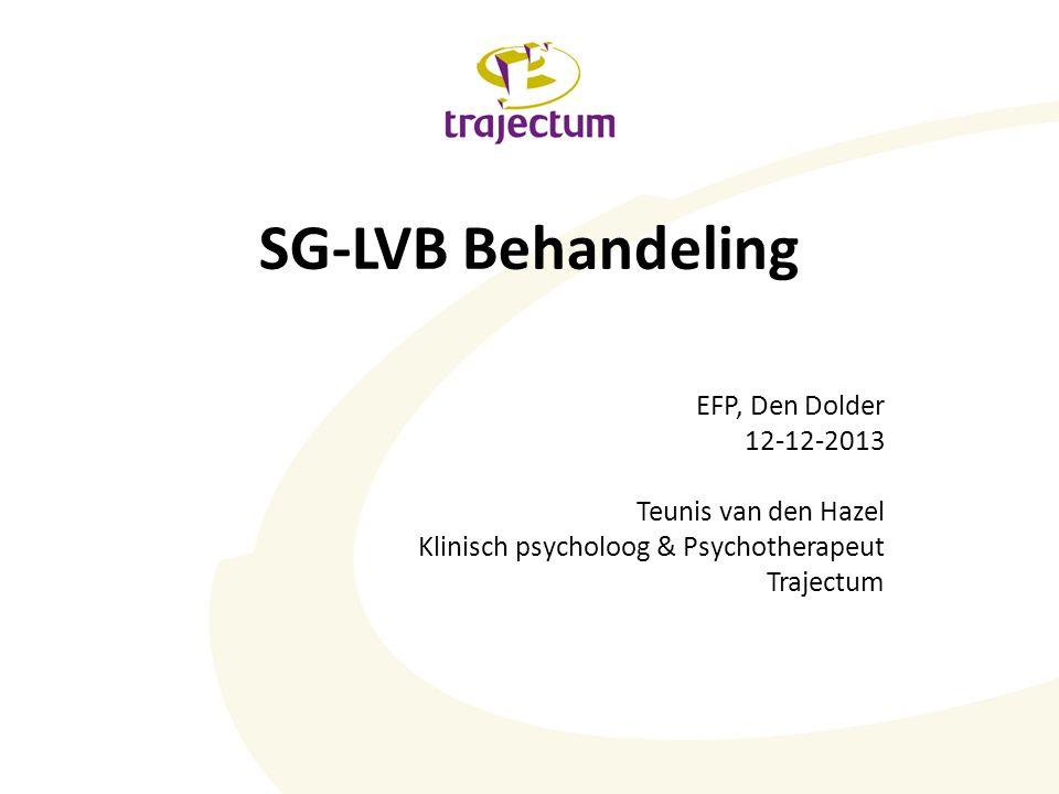 SG-LVB Forensische psychiatrie Verstandelijk Gehandicapten zorg Ortho- pedagogiek Psychiatrie