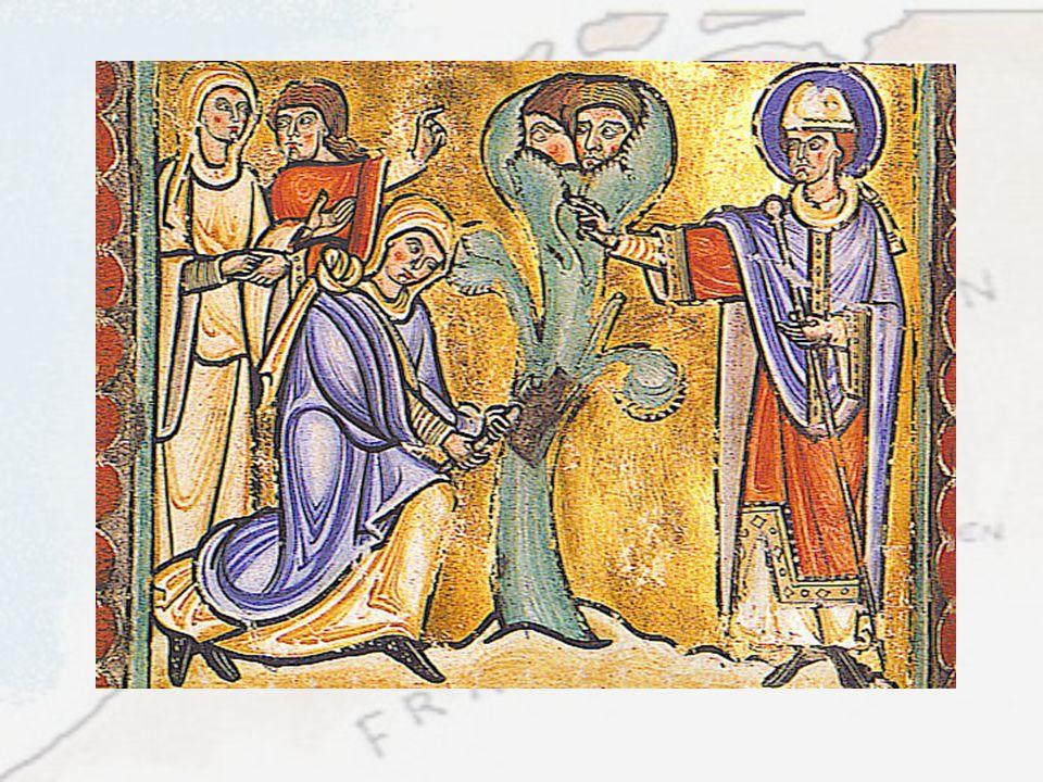 Uiteindelijk heeft er, zoals de voorbeelden hebben aangetoond in de vroege middeleeuwen een vermenging plaatsgevonden tussen het christendom en de het meergodendom van de Germanen.