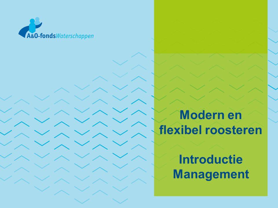 Inhoud • Aanleiding • Capaciteitsmanagement • Modern en flexibel roosteren • Aan de slag
