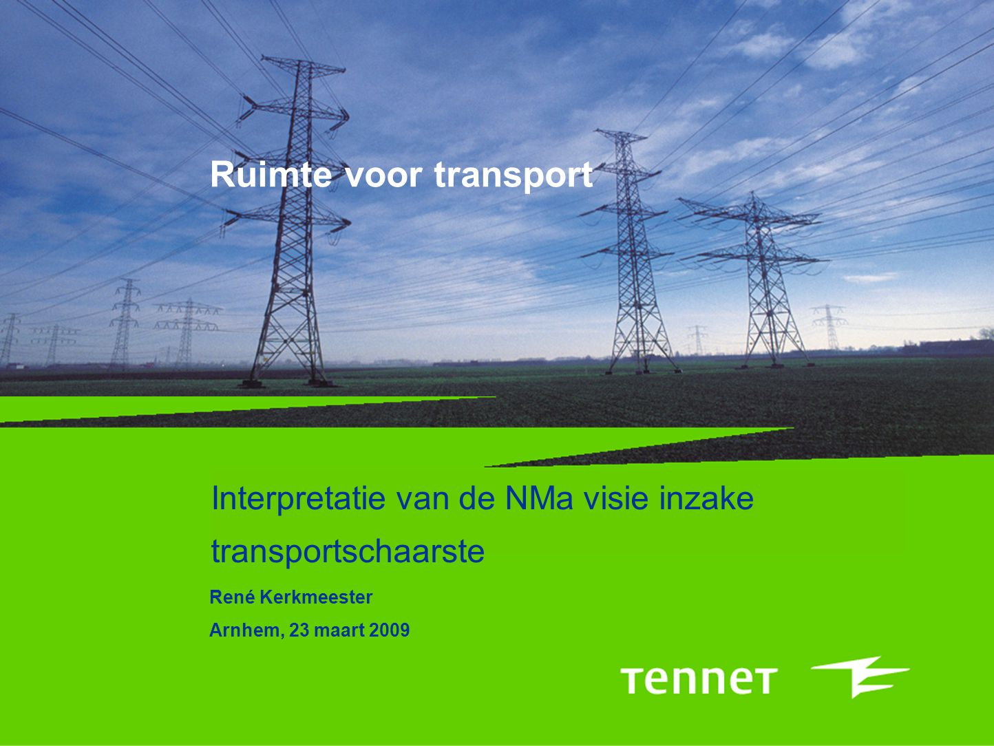 22 Netinvesteringen Zuid-Holland Sluiten Zuidring (Q2 2012) –Transportruimte: –N-2 ruimte: 5200 MW