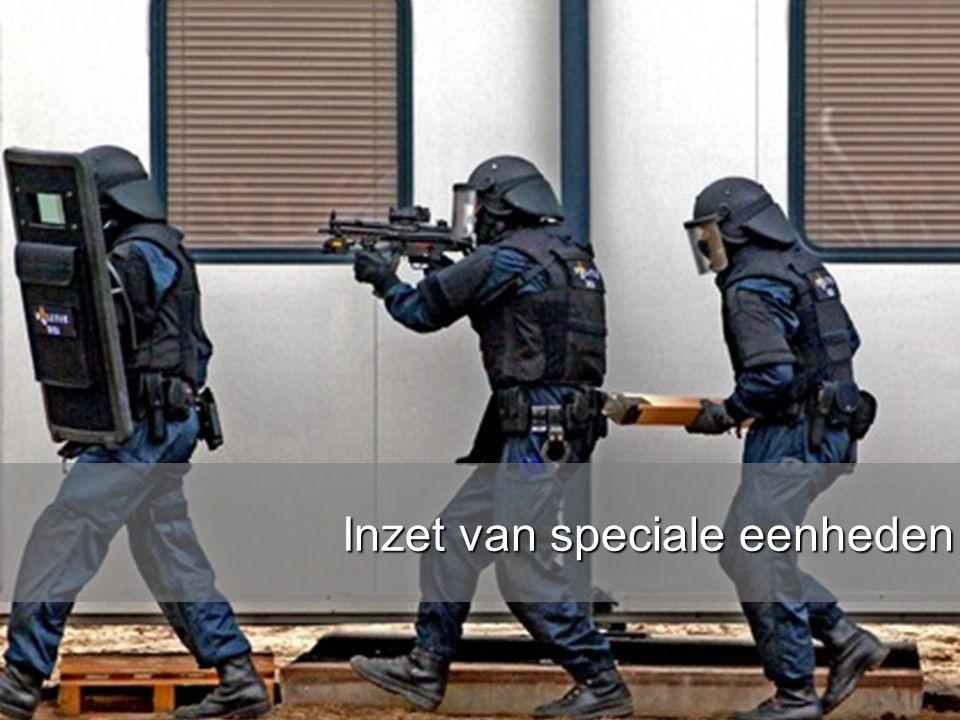 www.burgemeesters.nl Inzet van speciale eenheden