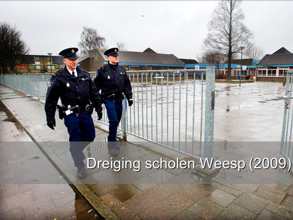 www.burgemeesters.nl Dreiging scholen Weesp (2009)