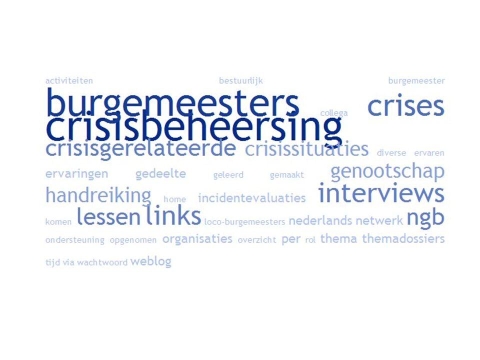 www.burgemeesters.nl Ten aanzien van de aansprakelijkheid en verantwoording heeft u meer te vrezen van Pieter van Vollenhoven dan van ons PG Han Moraal op NGB-bijeenkomst 2009