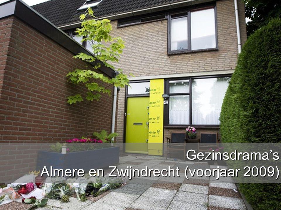 Gezinsdrama's Almere en Zwijndrecht (voorjaar 2009)