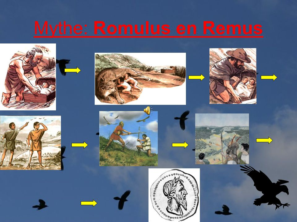 Mythe: Romulus en Remus