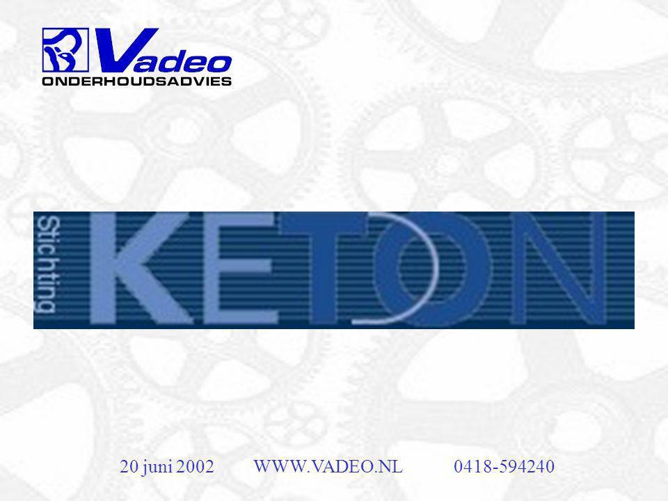 20 juni 2002WWW.VADEO.NL0418-594240 Lagers en uitlijning
