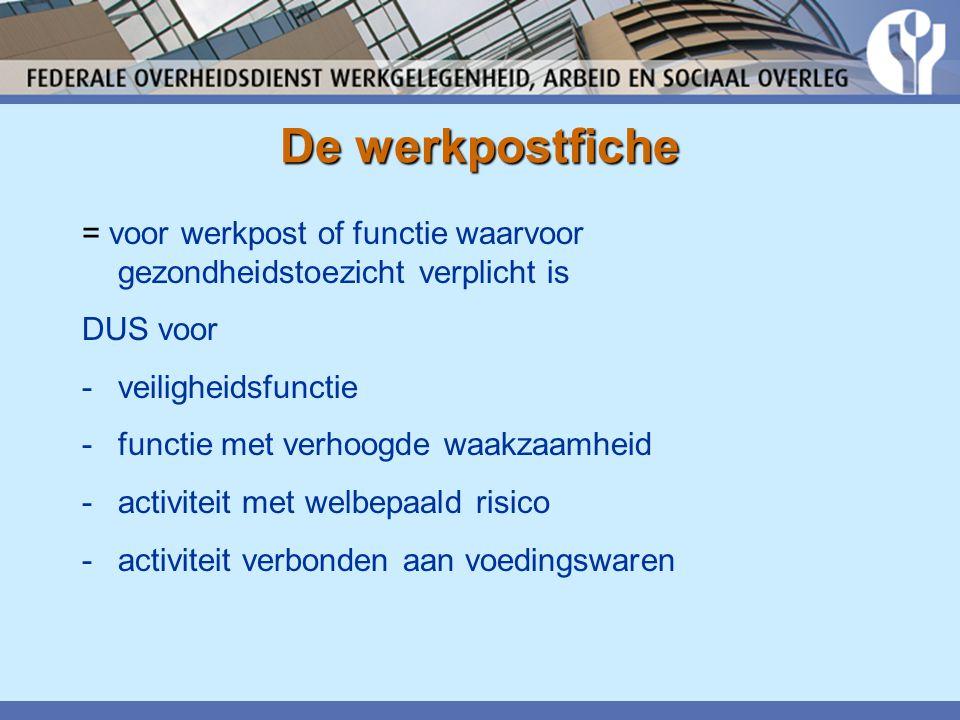 Vragen, suggesties? Mailen kan naar : HUA@werk.belgie.be