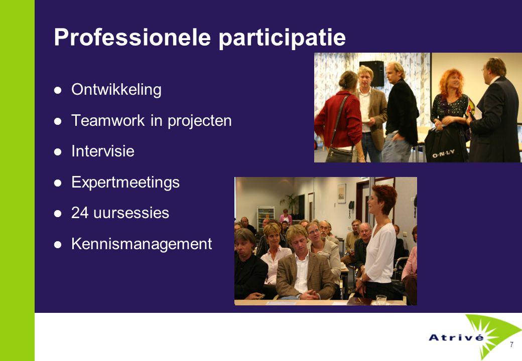 8 Participatie in leiderschap.100 boegbeelden i.p.v.