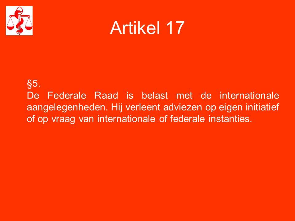 Artikel 3 Inschrijving op de Lijst van de raad van de provincie waar voornaamste activiteit in functie van de tijdsbesteding.