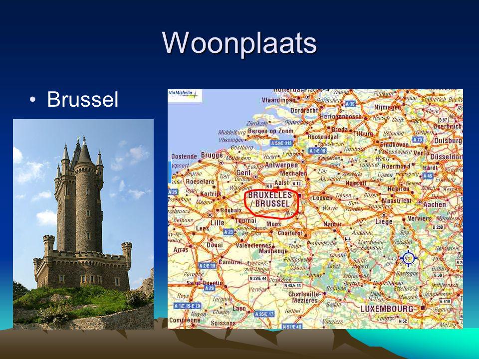 Woonplaats •Brussel